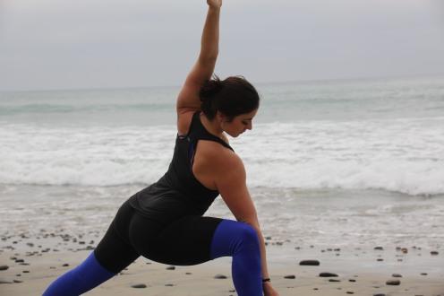 Ashley - Yoga - Beach