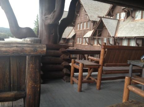 Old Faithful Porch